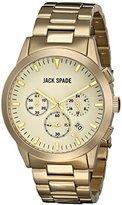 Jack Spade Men's WURU0218 Analog Display Japanese Quartz Gold Watch