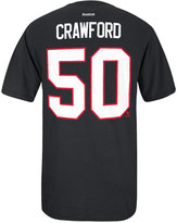 Reebok Men's Corey Crawford Chicago Blackhawks Player T-Shirt