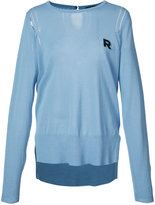 Rochas logo sweater - women - Cotton - 40