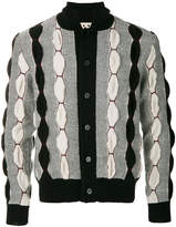 Marni geometric paneled cardigan