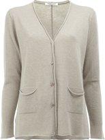 Lamberto Losani cashmere V-neck cardigan - women - Cashmere - S