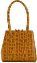 Mademoiselle crocodile-effect bag