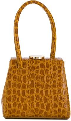 Little Liffner Mademoiselle crocodile-effect bag