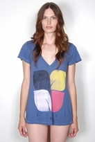 Rebel Yell Classic V Tee in Blue Jean