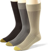 Gold Toe 3-Pk. Microfiber Socks