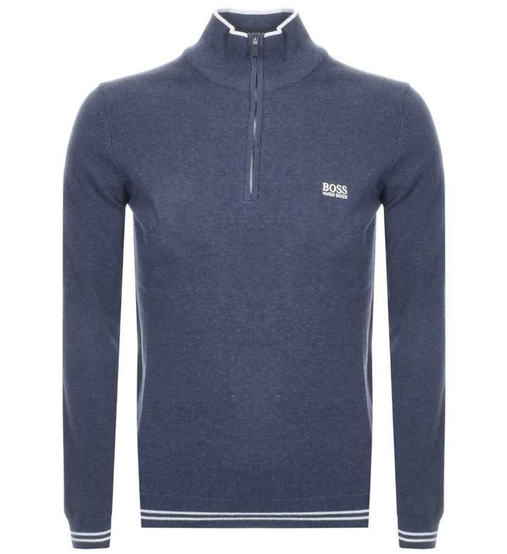 ec0f27630 Boss Zip Neck Sweater - ShopStyle UK