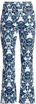 Chiara Boni Niche Printed Flare Pants