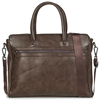 Casual Attitude GISELE men's Briefcase in Brown