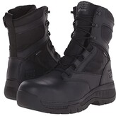 Timberland 8 Valortm Duty Composite Safety Toe Waterproof Side-Zip (Black) Men's Work Lace-up Boots