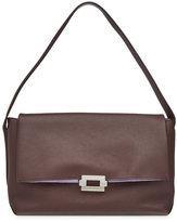 Jil Sander Refold Medium Leather Shoulder Bag