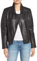 BB Dakota Women's 'Heely' Leather Moto Jacket