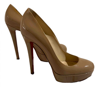 Christian Louboutin Lady Peep Other Patent leather Heels