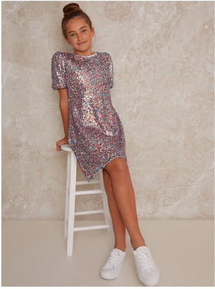 Chi Chi London Girls Madelyn Dress - Multi