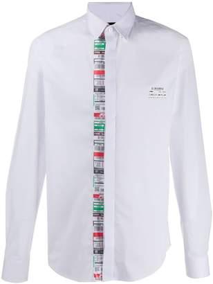Frankie Morello print detail shirt