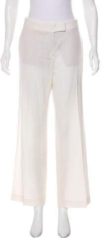 Stella McCartney Mid-Rise Wide-Leg Pants w/ Tags
