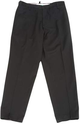 DSQUARED2 Black Wool Trousers