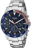 Fossil Men's Quartz Stainless Steel Casual Watch, Color:Silver-Toned (Model: CH3059)