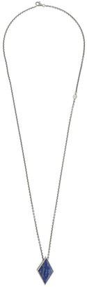 M. Cohen large Diamond geo locket necklace