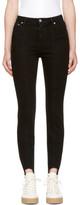 MSGM Black Skinny Stirrup Jeans