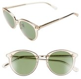 Oliver Peoples Women's 'Spelman' 50Mm Retro Sunglasses - Yellow