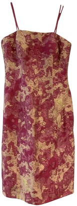 Theia Pink Dress for Women