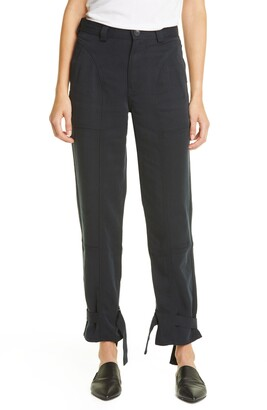 TRAVE Darcy Cinched Ankle Trousers