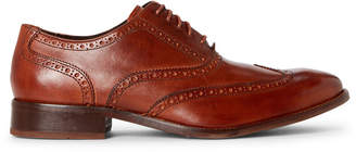 Cole Haan British Tan Williams Brogue Leather Oxfords