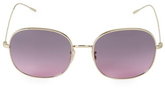 Oliver Peoples Mehrie 47MM Metal Sunglasses