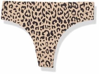 DKNY Women's Litewear Seamless Cut Anywhere Thong Panty