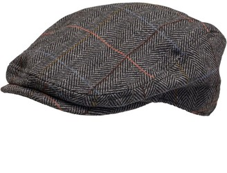 French Connection Mens Tweed Cap Tweed 7