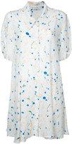 Lemaire printed shirt dress - women - Silk - 38