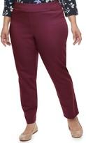 Croft & Barrow Plus Size Effortless Stretch Pull-On Pants