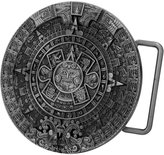 BC Buckles Belt Buckle - Aztec Calendar