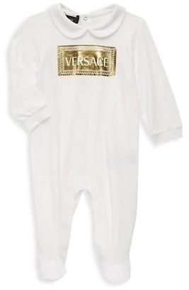 Versace Baby's Logo Footie