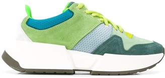 MM6 MAISON MARGIELA colour block low-top sneakers