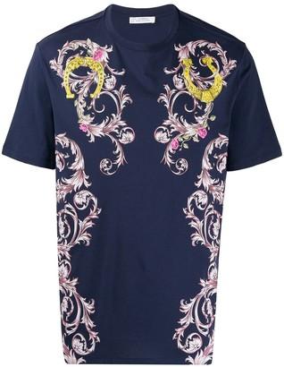 Versace floral print T-shirt