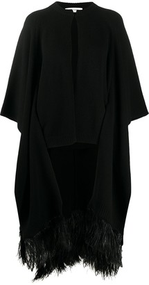Valentino Knitted Cardigan Cape