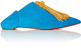 Christian Louboutin Women's Medinana Flat Suede Oxfords