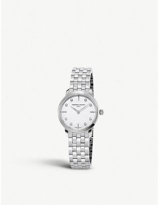 Frederique Constant FC-200STDS6B Slimline stainless steel watch