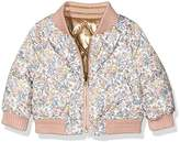 Juicy Couture Girls 0-24m HW Floral Reversible Puffer Jacket