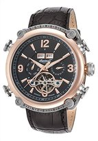 Ingersoll Men's Grand Canyon III IN4504RBK Leather Automatic Watch with Dial