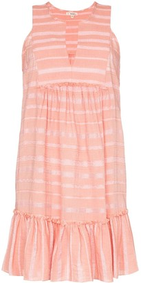 Lemlem Tatyu ruffled mini-dress