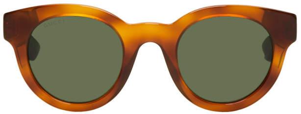 Gucci Tan Pantos Sunglasses