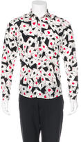 Moschino Aces Woven Shirt