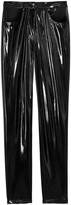 Tibi Tehnical Patent Skinny Trousers