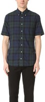 Gitman Brothers Short Sleeve Blackwatch Madras Shirt