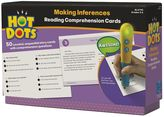 Educational Insights Hot Dots Making Inferences Reading Comprehension Card Set by