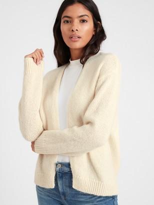 Banana Republic Ribbed Open Cardigan Sweater
