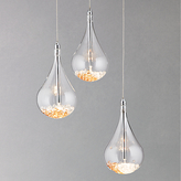 John Lewis Sebastian 3 Light Drop Ceiling Light