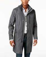 Alfani Men's Lightweight Zip-out Hooded Topcoat, Only at Macy's